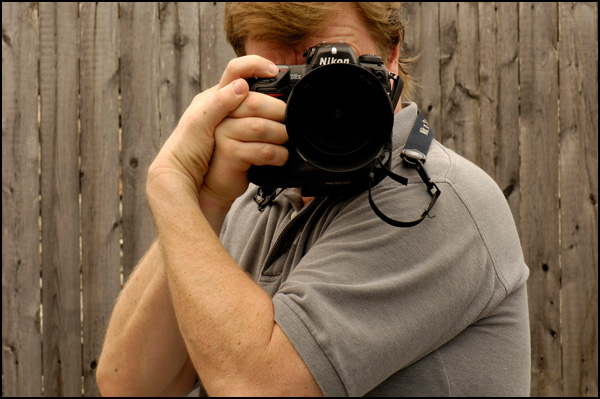 Joe McNally, the master of photography, demonstrates the ultimate way to keep the camera steady!